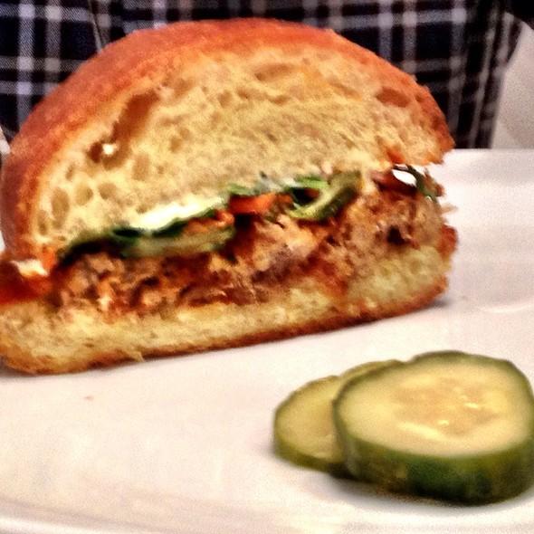 Pulled Pork Sandwich - Byrd Cookie Company fka B TILLMAN, Savannah, GA