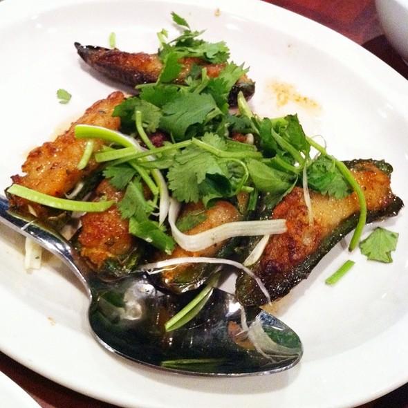 Crabmeat Stuffed Jalepeno Peppers @ Sun Wah Bar-B-Que