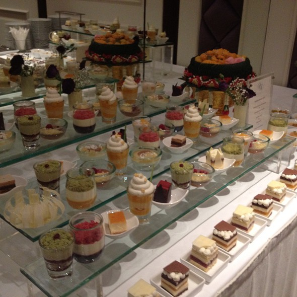 Dessert @ Dessert In Wedding At Lebua