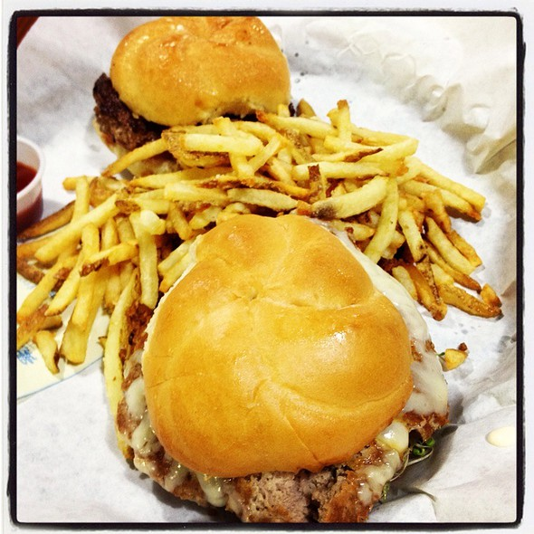 Organic Turkey Burger With Fries @ Market Burger Fries & Shakes