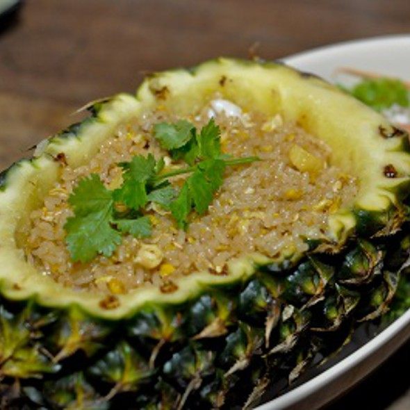 Pineapple Fried Rice @ Golden Triangle