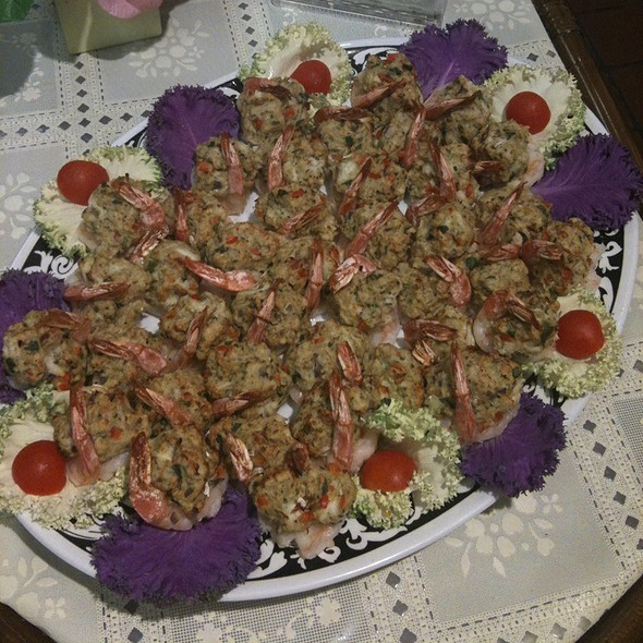 Baked Stuffed Shrimp W/ Lump Crabmeat Stuffing @ Annie's Vintage Gourmet Market