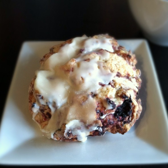 Wildberry Scone @ Ride Studio Cafe