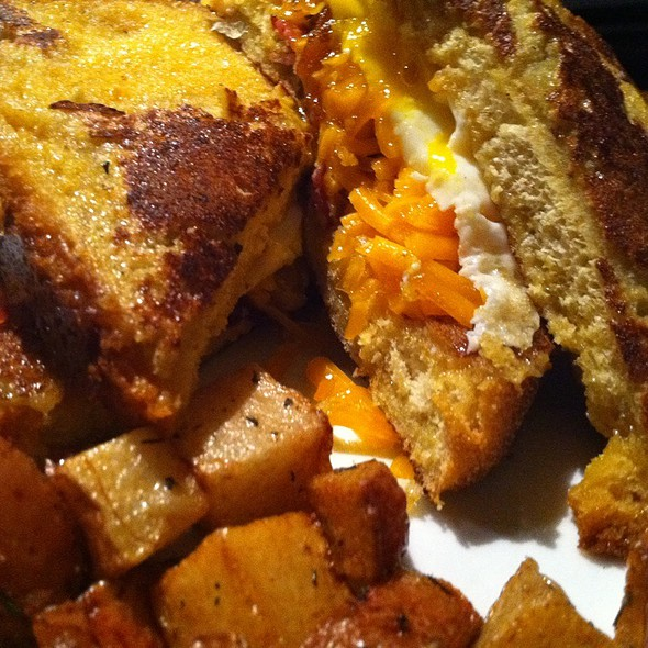 French Toast Sandwich @ Coffee House Cafe