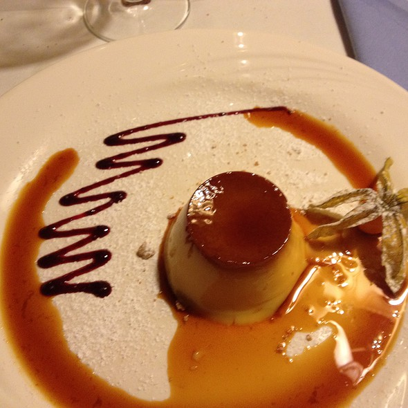 Cream Caramel Custard @ San Martino Restaurant