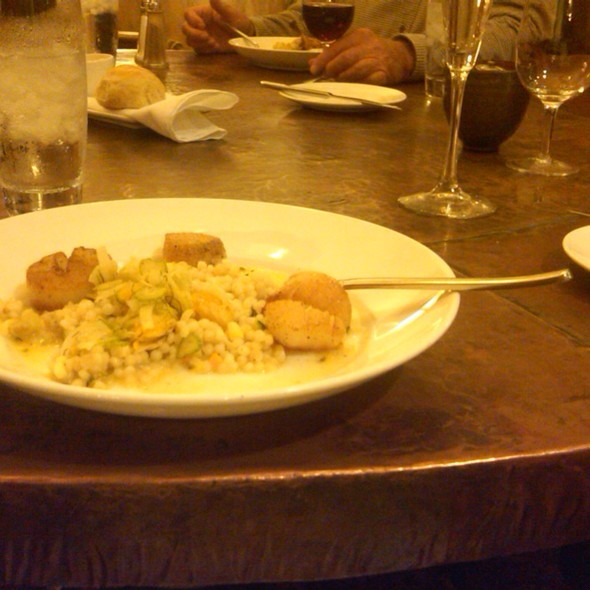 Pan Seared Scallops  @ New York Wine & Culinary Center