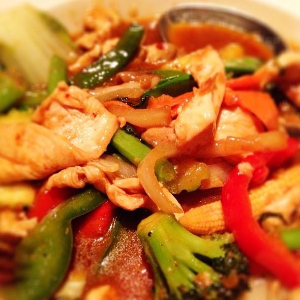 Spicy Veggie Stir Fry @ Top Spice Thai & Malaysian Cuisine