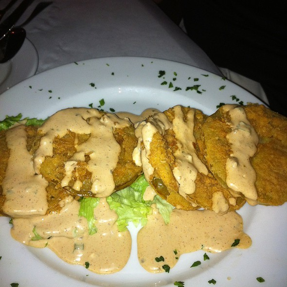 Fried Green Tomatoes @ Huey's On the River