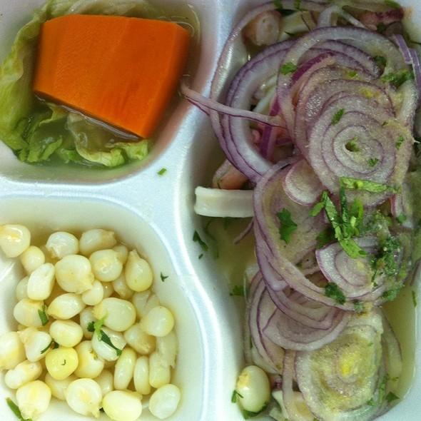 Seafood Ceviche @ El Chalan Restaurant