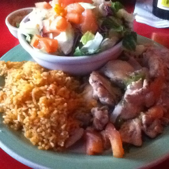 House Special Chicken @ El Coyote Cafe