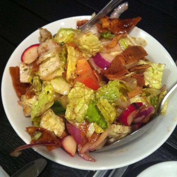 Fattoush Salad @ Garage Beirut