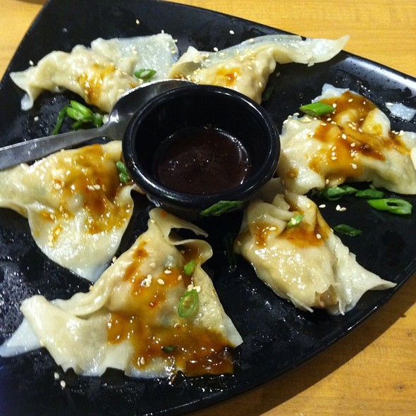 Chicken Ginger Dumplings @ California Pizza Kitchen