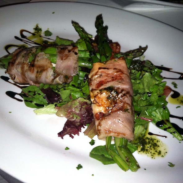 Bacon Wrapped Asparagus - Tannins Restaurant and Wine Bar, San Juan Capistrano, CA