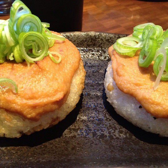 Pork & Wheat Berry Rice Ball  @ Nojo