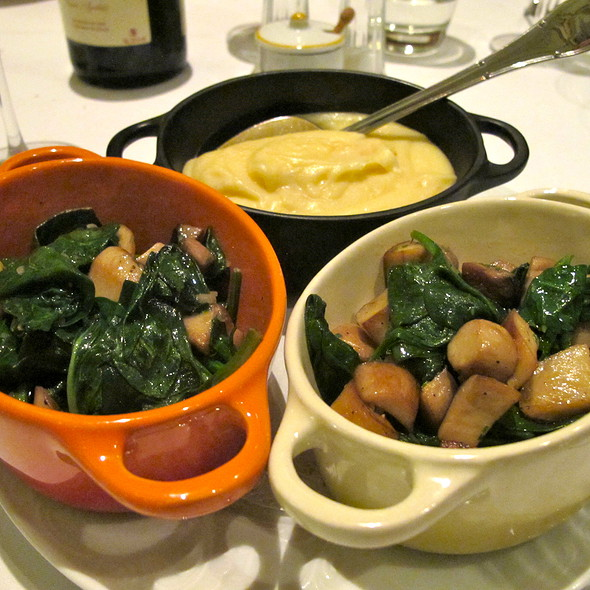 Side Dishes @ Brasserie Gavroche