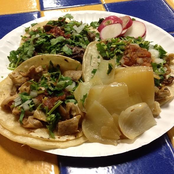 Tacos @ Taqueria Vallarta
