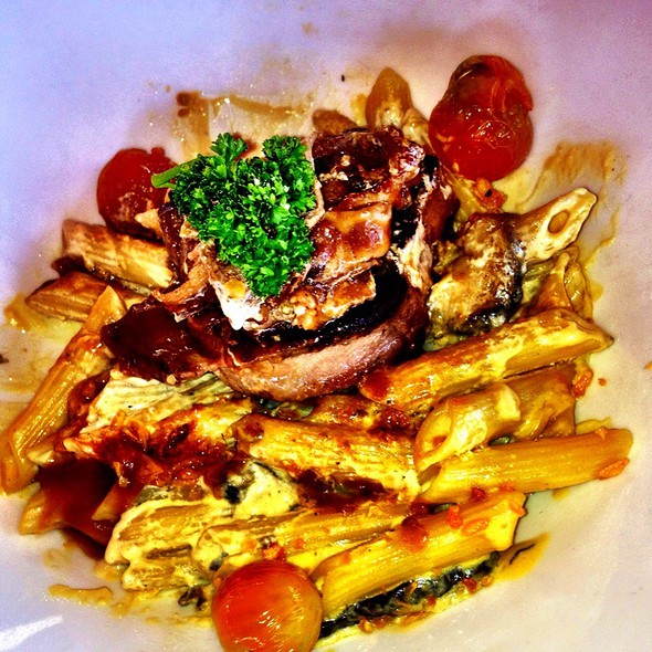 Fillet Mignion With Penne Pasta @ Manila Polo Club