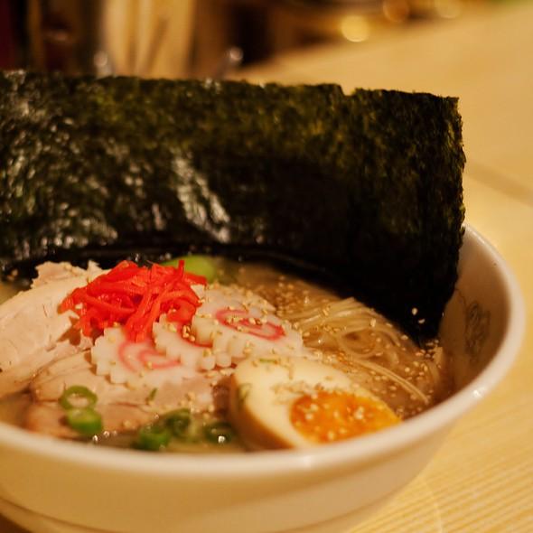 Ramen in Tonkotsu Soy Sauce Soup @ Ryo's Noodles
