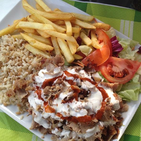 Piatto Kebab @ Blu Istanbul