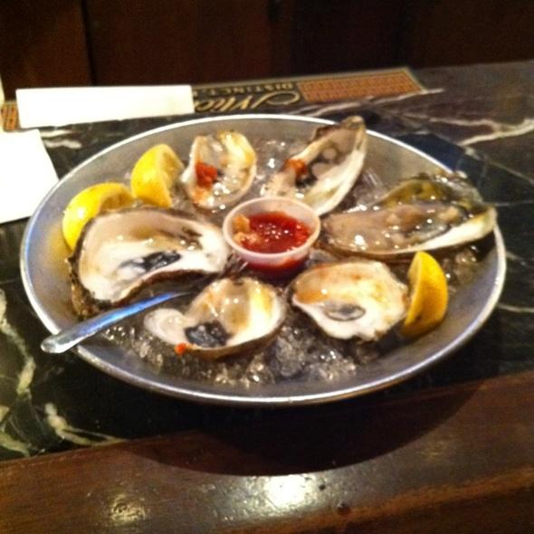 Oysters - Tidewater Grill - Charleston, Charleston, WV