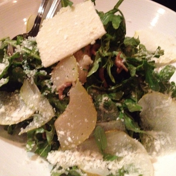 Arugula Salad With Grilled Bartlette Pear And Smoked Almond @ Waterloo & City