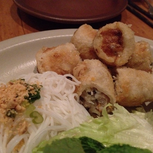 Crispy Imperial Rolls @ The Slanted Door