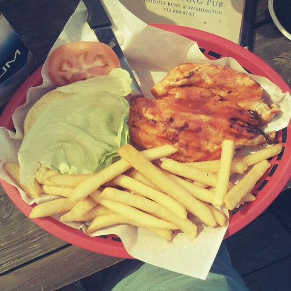 Buffalo Chicken Sandwich @ Front Porch Pub