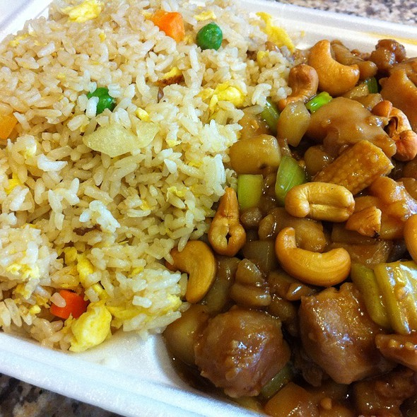 Cashew Chicken @ Chow Mein Express