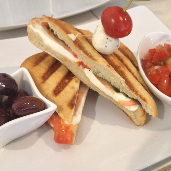 Caprese Panini @ Frozenberry Frozen Yogurt & Cafe