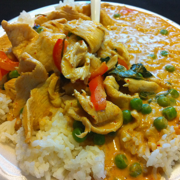 Chicken Penang Curry @ Thai Angel