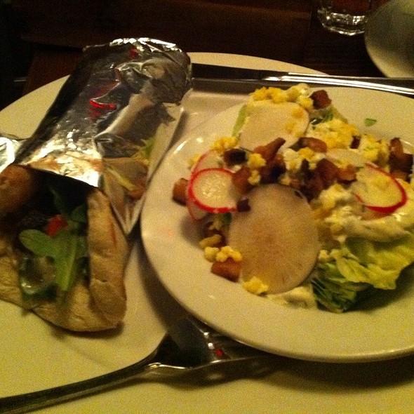 Gyro W/Iceberg Wedge Salad @ Leon's Full Service