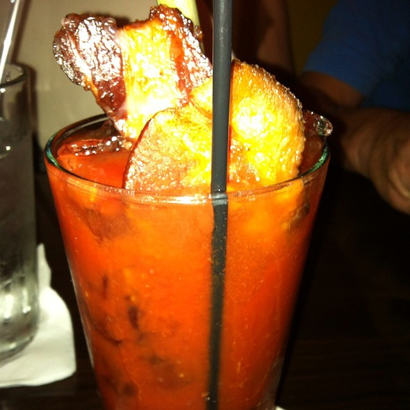 Bloody Mary With Bacon @ Datz