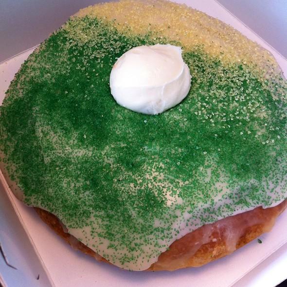 Mardi Gras King Donut @ Mojo Monkey Donuts