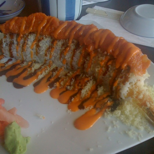 red dragon roll @ Kuroishi Japanese Cuisine