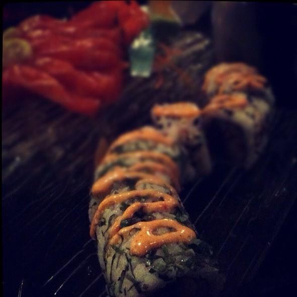 Skye Roll, Savanah Roll, Salmon Sashimi @ Kaizan Sushi Bar