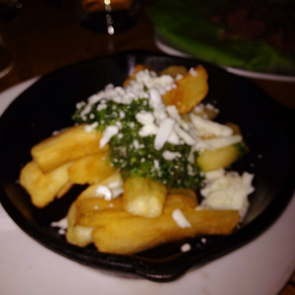 Yuca Fries @ Macondo