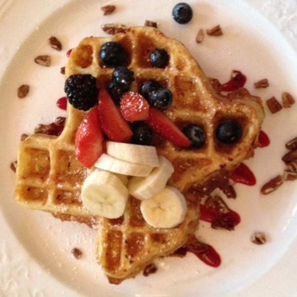 Waffles @ The Driskill Hotel