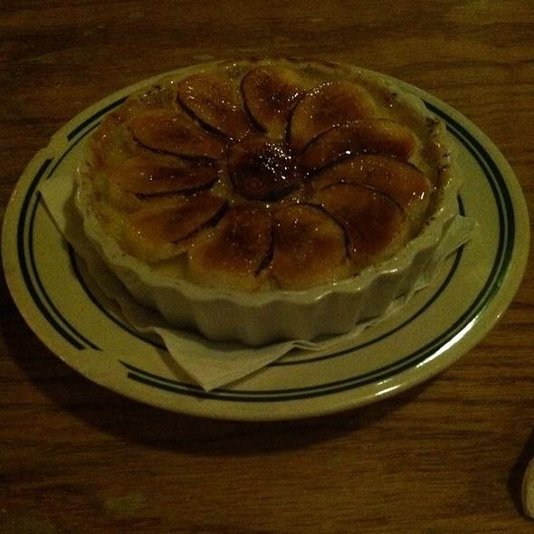 Banana Pudding Creme Brulee @ Comfort