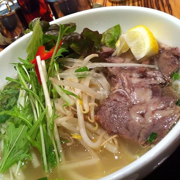 Beef Pho @ Pho Nam