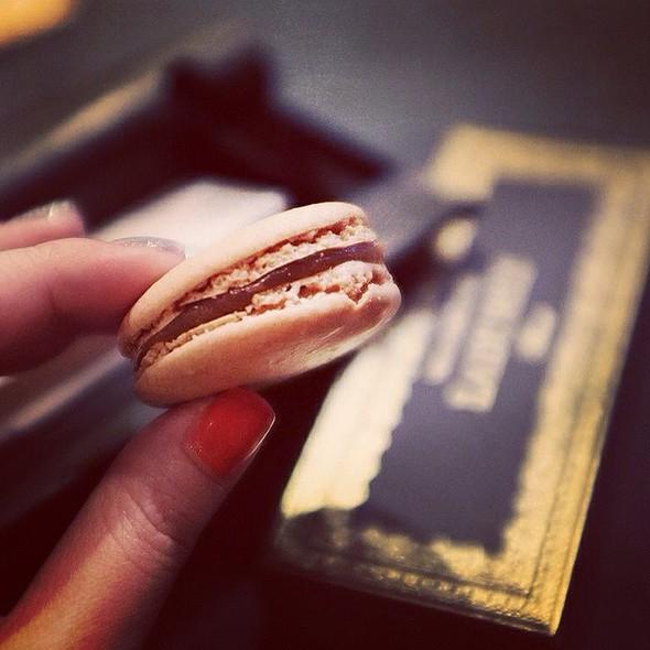 Salted Caramel Macaron @ Ladurée