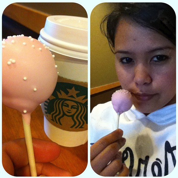 Hot Chocolate And Birthday Cake @ Starbucks