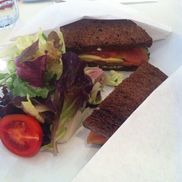 Smoked Salmon Sandwich @ Lucca