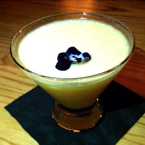 Passion Fruit & Mango Martini - Nobu Dallas, Dallas, TX