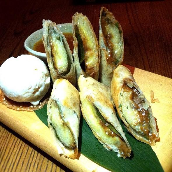 Banana Harumaki - Nobu Dallas, Dallas, TX