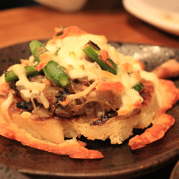 Cheese Potato Pizza @ Don Don Izakaya