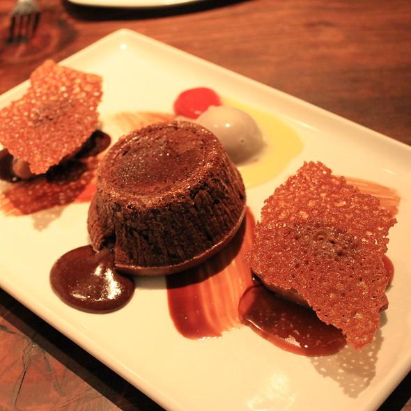 Molten Chocolate Cake - Boehmer, Toronto, ON