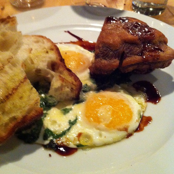 Lamb Brisket With Eggs - Amali, New York, NY