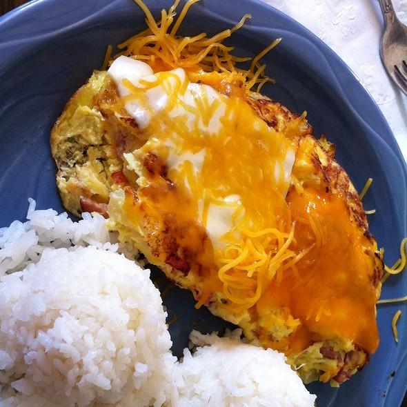 Moco Loco Omlette @ Poipu Tropical Burgers