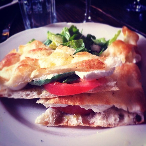 Fresh Mozzerella Sandwich - Dino, Brooklyn, NY