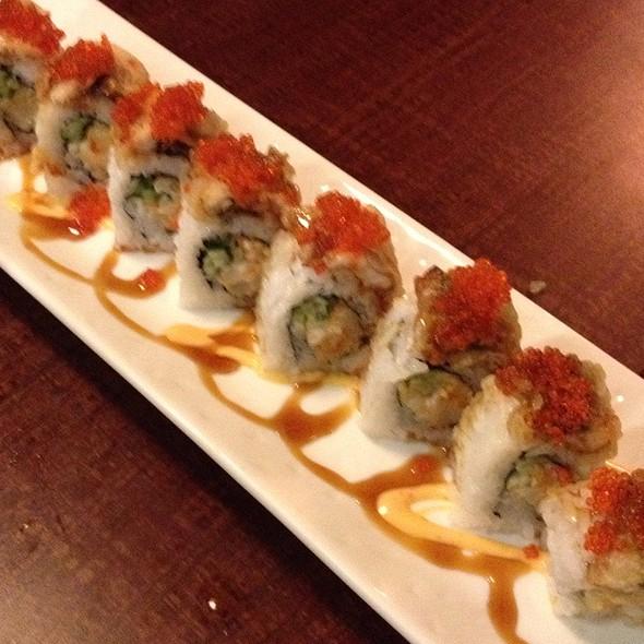 Chopped Scallop Unagi Roll @ Shota Sushi